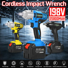 198VF Rechargeable Cordless 1/2''Electric Impact Brushless Wrench Kit