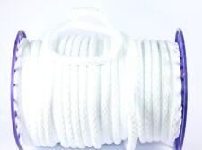 Kordel geflochten Ø 10mm in weiß, Polypropylen 5m