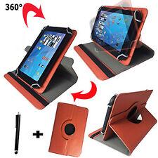 7 zoll Tablet Tasche -  blackberry playbook Hülle Etui - 360° Orange 7