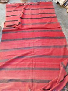 Vintage handmade Moroccan wool blanket 360 x 165 cm