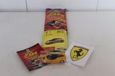 Micro Cars 2015 FERRARI Cards + stickers + libretto Numero 7 LAFERRARI 2013