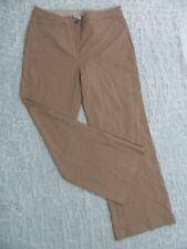 LAURA ASHLEY toast beige brown dress pants slacks size 10 BNWT