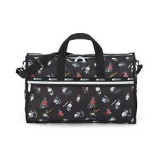 LeSportsac BTS Collection Large Weekender Duffel Bag in BT21 Black NWT