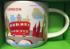 Starbucks You Are Here (England City) LONDON 14oz. MUG Cup Ship From US With Box