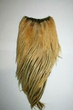 Golden Ginger Rooster Neck Cape Fly Tying Fishing Hackle Feathers Materials 41