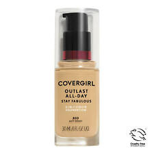 Covergirl Outlast All-Day Stay Fabulous Foundation, 855 Soft Honey Exp DE/19