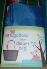 Riteaid Tugaboos Large Blue Nylon Diaper Bag 12 X 17 In. (30.4 X 43.1 Cm)