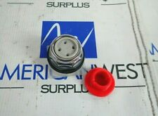 SCHNEIDER 9001KR4R RED MUSHROOM NON ILLUMINATED MOMENTARY BUTTON *NEW*