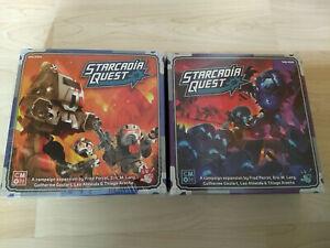 """Starcardia Quest Kickstarter Erweiterungen """"Thornetroopers"""" & """"Zenith Invasion"""""""