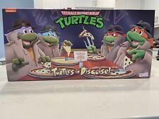 NECA Teenage Mutant Ninja Turtles Turtles In Disguise 4 Pack Sealed - New in Box