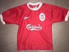 "Liverpool FC Reebok Vintage Kids Jersey 26""/28"" Circa 1998"