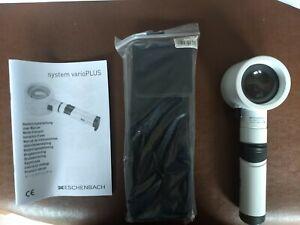 Eschenbach System Vario Plus LED Hand Held Magnifier, Round Lens