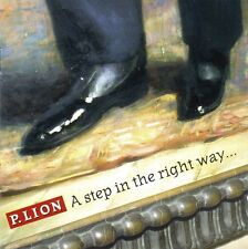 P. Lion ‎CD A Step In The Right Way... - Italy (M/EX)