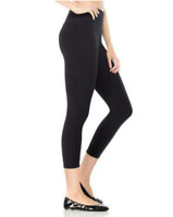 Spanx High Wasited Capri 2190 Black Small - New With Tags