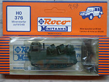 Roco Minitanks / Herpa (New) Modern US M-548 Armored Mine Launcher Tank Lot 508K