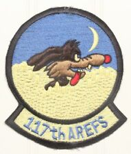 USAF Air Force Patch: 117th Air Refueling Squadron (single tab)