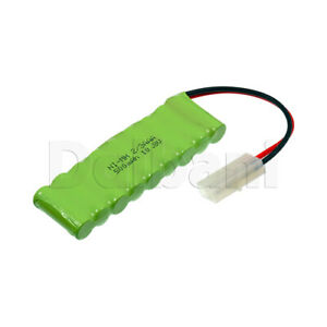 Rechargeable Battery Ni-MH 2/3AAA with Cable 2 Pin 10.8V 500mAh
