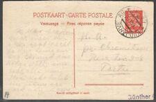 Estonia 1933 Postal stationery Mi P18F, Used; 6.6.1936