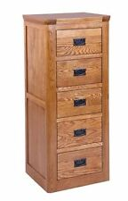 More than 200cm Height Rustic Oak Chests of Drawers