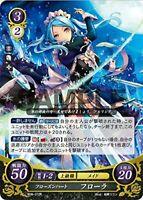 Fire Emblem Japanese 0 Cipher Card - Frozen Heart, Flora B06-072 R Holo