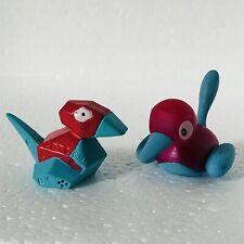 Porygon & Porygon 2 Original Nintendo Pokemon Toy Mini Figures