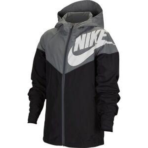 Nike Sportswear Windrunner Big Kids Boys Jacket CU9301 Size Medium