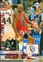 1998 UPPER DECK MICHAEL JORDAN THE JORDAN FILES MJ23 #151 BASKETBALL CARD