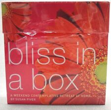 Bliss in a Box ~A Weekend Contemplative Retreat at Home~ by Susan Piver (A3)