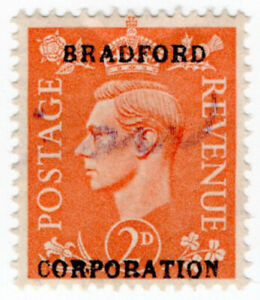 (I.B) George VI Commercial Overprint : Bradford Corporation