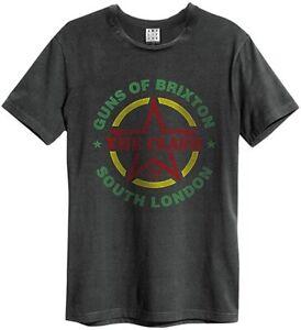 Amplified The Clash - Guns Of Brixton Tour - Men's Charcoal T-Shirt