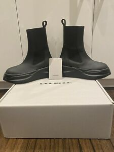 Rick Owens DRKSHDW Neo-gothic Abstract Beetle Boots 38