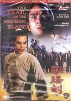 Trail Of The Broken Blade Jimmy Wang Yu Martial Arts Action DVD NEW
