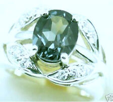 Lab Created Spinel  Silver  Ring  April #94 Sz 7
