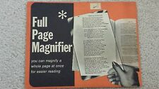 Full Page Magnifier {You can magnify a whole page at once for easier reading!!!}
