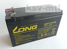Batterie Akku Wolf Scooter und Rover 12V 7Ah 7,2Ah