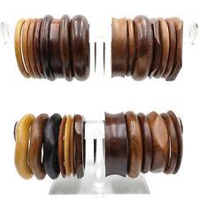 Wholesale Fashion Jewelry lot 10 PCS Wooden Bracelets Bangles