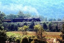 CHESSIE STEAM SPECIAL #614 on B&O 17-Mile Grade 9/81 ORIG EKTACHROME PC0771