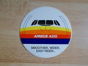 Sticker Airbus A310 - Smoother, Wider, Easy Rider