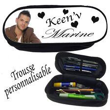 Trousse à crayons KEEN 'V  personnalisée avec prénom V1