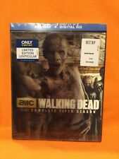 The Walking Dead: The Comp Fifth Season (Bluray 5 Disc) w/ LENTICULAR SLIPCOVER