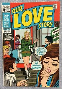 Our Love Story #11 Marvel Comics Stan Lee John Romita 1971 Romance Fine