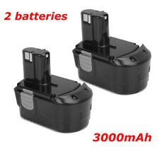 Société Française Lot de 3 batteries type EBM 1830 pour Hitachi 3000mAh 18V