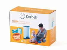 Korbell 105162 Disposal Bin Liners (Pack of 3)