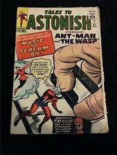 1963 MARVEL COMICS TALES TO ASTONISH #47 G/VG SEE PICS ANT-MAN WASP FLAT RATE SH
