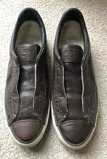 Converse All Star John Varyatos Size UK 8.5 Brown Leather