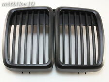 83-91 BMW E30 Front Grille 3 Series Front Hood Kidney Grille Grill M3 Black