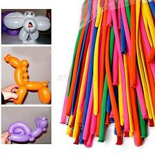 200pcs Party Long Animal Tying Making Balloons Twist Latex Balloon DIY Decor New
