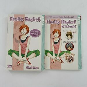 Fruits Basket Volume 23 plus Sampler Manga Comic Book Vol 23 English RARE OOP