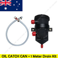 Diesel Oil Catch Can (Cotton) For ProVent 200 & 1 Meter Clear Drain Hose Kit NEW