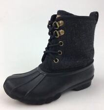 Tommy Hilfiger LITTLE KIDS Megan Duck Grey Lace Up Boots Size 13 115